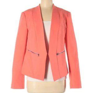 HALOGEN Coral Open Front Blazer Jacket